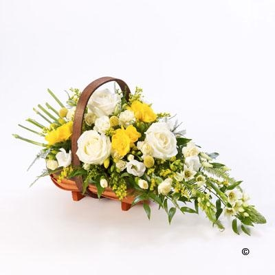 Mixed Basket   Yellow and White *