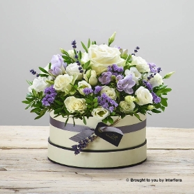 Lovely Lilacs Hatbox